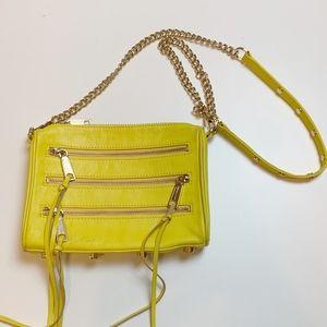 Rebecca Minkoff Mini 5 Zip Leather Crossbody Bag